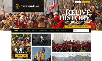 Our Work | The Sealed Knot