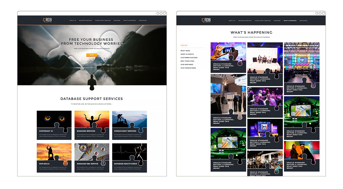 RDB | Wordpress Web Design
