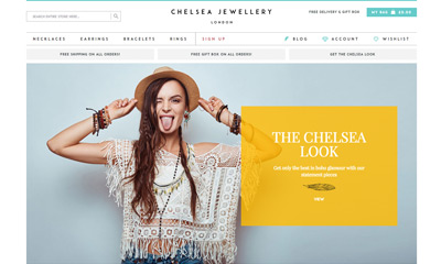 Our Work | Chelsea Jewellery | Magento eCommerce